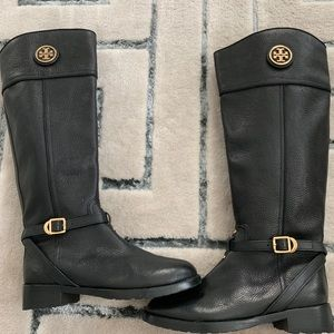 Tory Burch Calista riding boots size 8–never worn
